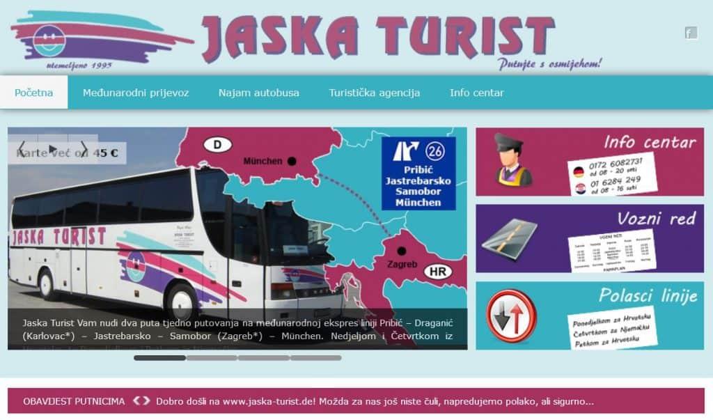 Jaska Turist Međunarodni Prijevoz Munchen Zagreb Tinchy De