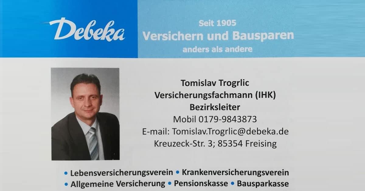 Debeka Versicherung und Bausparkasse – Tomislav Trogrlic