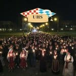 Mimohod Hrvata u Münchenu za žrtve Vukovara