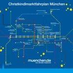 Plan adventskih i božićnih sajmova u Münchenu