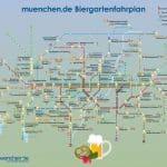 Plan pivskih vrtova u Münchenu