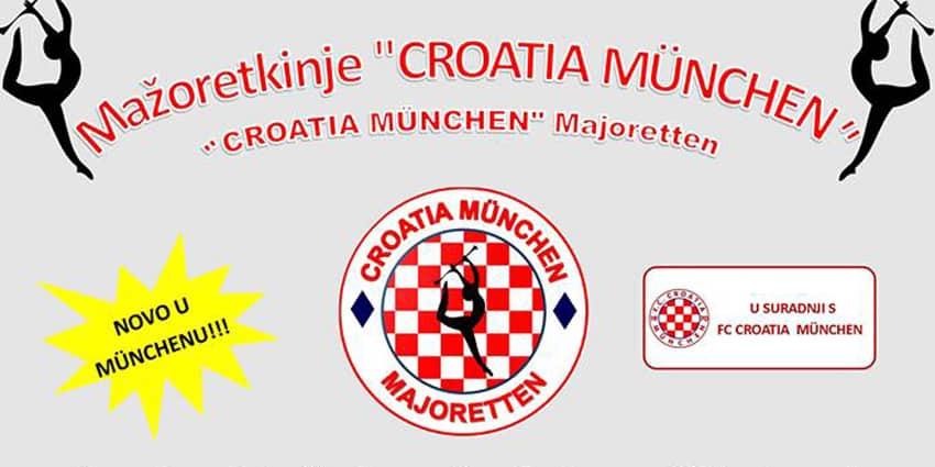 Hrvatska škola mažoret plesa – FC Croatia München