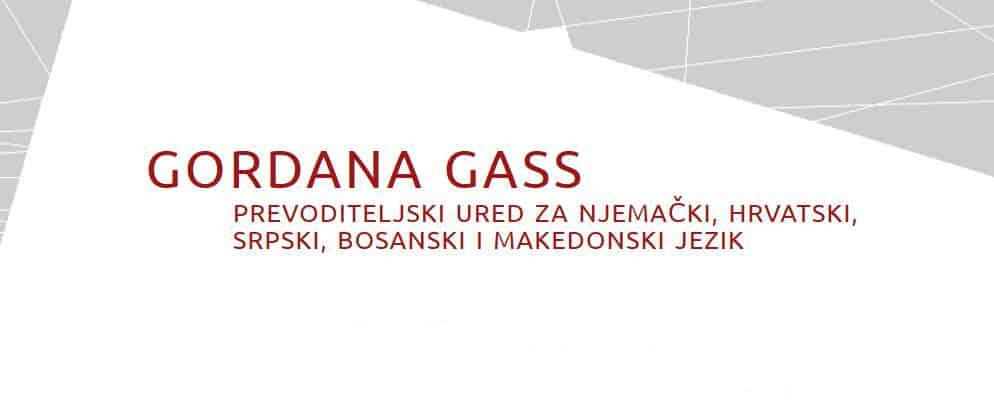 Prevoditeljski ured – Gordana Gass
