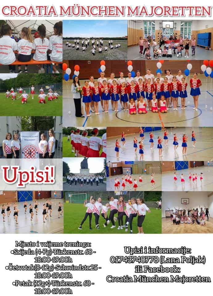 Upisi u školu mažoret plesa – FC Croatia München
