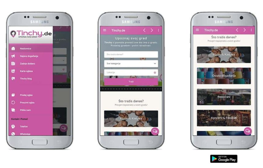 Preuzmite mobilnu aplikaciju Tinchy.de