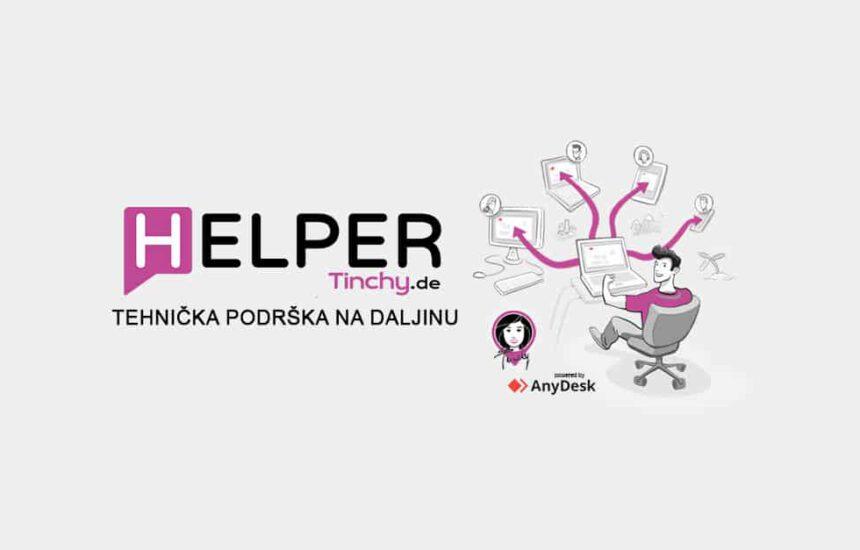Tehnička podrška na daljinu – Helper by Tinchy.de